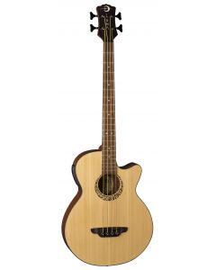 Luna Tribal Acoustic Electric Bass 30 Inch LAB 30 TRIBAL LAB 30 TRIBAL