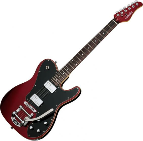 Schecter PT Fastback II B Electric Guitar in Metallic Red Finish