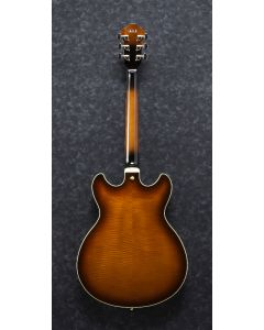 Ibanez AS Artcore Expressionist Left Handed Violin Sunburst AS93FML VLS Hollow Body Electric Guitar