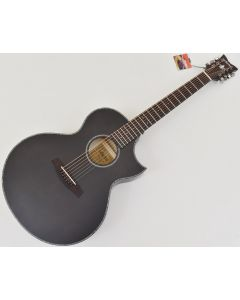 Schecter Orleans Stage-7 String Acoustic Guitar in See Thru Black Satin SCHECTER3709