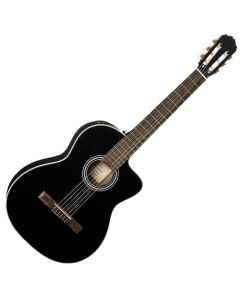 Takamine GC3CE-BLK Acoustic Electric Classical Guitar in Black Finish B Stock TAKGC3CEBLK.B