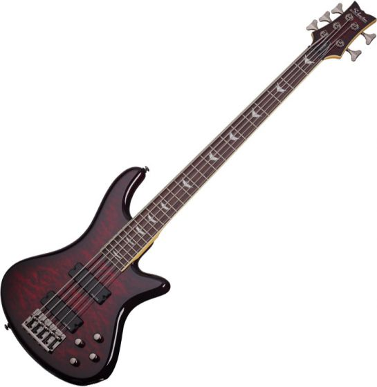 Schecter Stiletto Extreme-5 Electric Bass Black Cherry