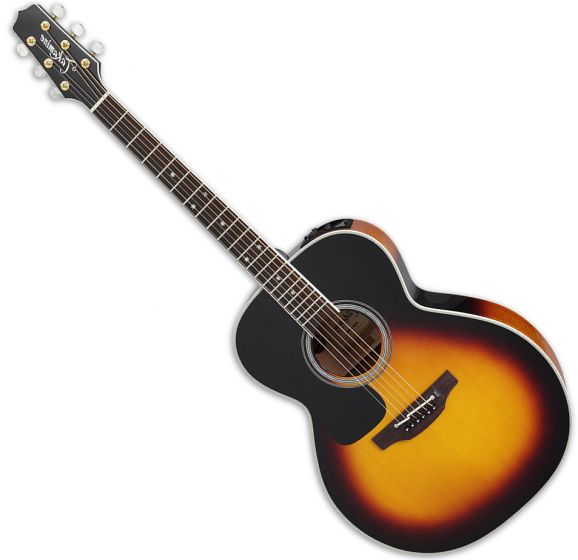 Takamine P6N Left Hand NEX Acoustic Guitar in Brown Sunburst