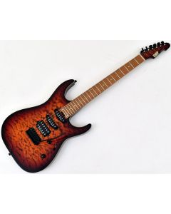 ESP USA M-III 2PT Electric Guitar in Tiger Eye Sunburst EUSMIIITESB