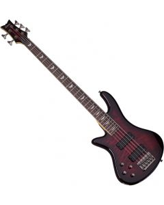 Schecter Stiletto Extreme-5 Left-Handed Electric Bass Black Cherry  SCHECTER2508