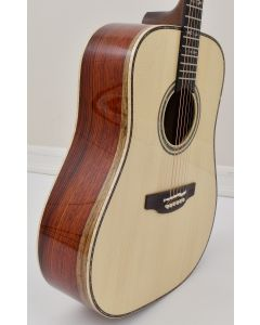 Takamine Custom Shop SG-CPD-AC1 Solid Adirondack Spruce top Cocobolo back side Acoustic Guitar TAKSGCPDAC1