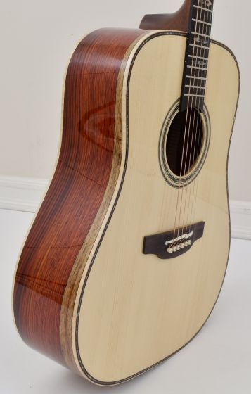 Takamine Custom Shop SG-CPD-AC1 Solid Adirondack Spruce top Cocobolo back side Acoustic Guitar