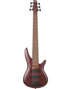 Ibanez SR Standard SR506E 6 String Brown Mahogany Bass Guitar SR506EBM