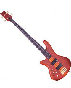 Schecter Stiletto Studio-4 FL Left-Handed Electric Bass Honey Satin  SCHECTER2765