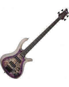 Schecter RIOT-4 Electric Bass in Satin Aurora Burst SCHECTER1450