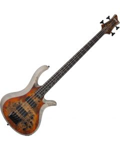 Schecter RIOT-4 Electric Bass in Satin Inferno Burst SCHECTER1451