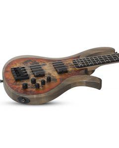 Schecter RIOT-4 Electric Bass in Satin Inferno Burst