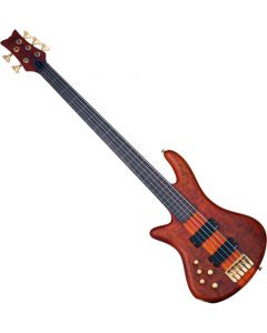 Schecter Stiletto Studio-5 FL Left-Handed Electric Bass Honey Satin  SCHECTER2775