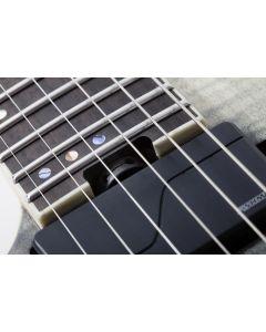 Schecter C-1 FR SLS Elite Left Hand Electric Guitar in Black Fade Burst