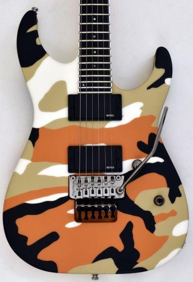 ESP E-II M-II Neck Thru Body Electric Guitar in Desert Camo
