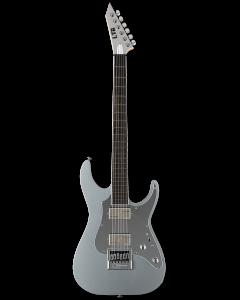 ESP LTD KS M-6 Evertune Ken Susi Metallic Silver Electric Guitar w/Case LKSM6ETMS