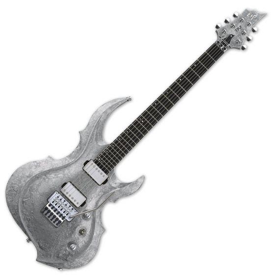 ESP FRX Original Series Electric Guitar in Liquid Metal Silver